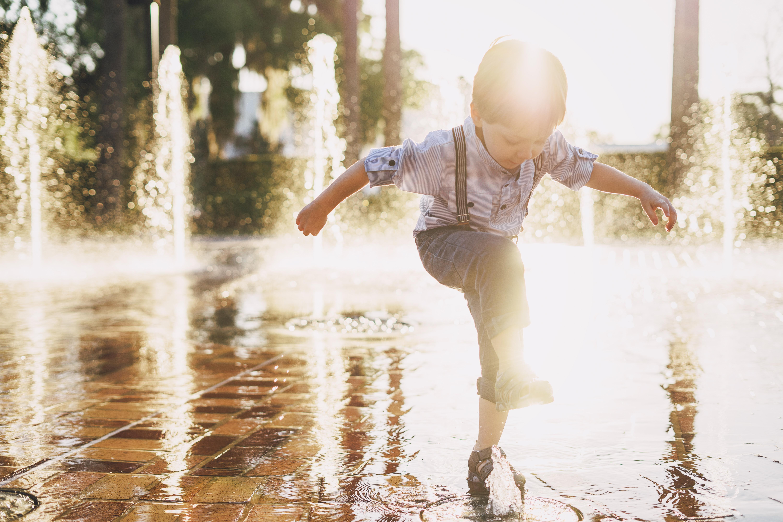 Paura dell'acqua nei bambini