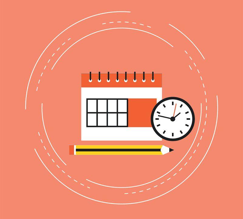 Gestire il tempo nello studio