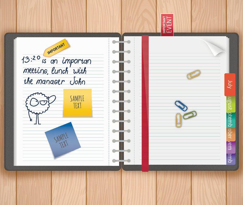 Organizzare il diario di scuola